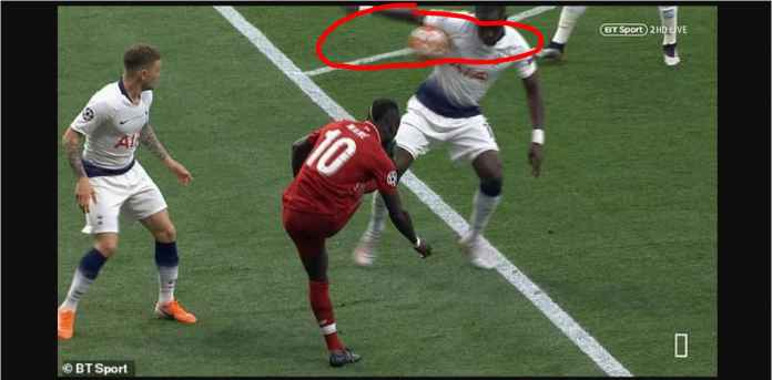 Fans Tottenham: Sejak Kapan Bola Kena Ketiak Dihukum Penalti