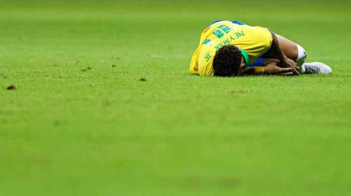 Neymar cedera di laga Brasil vs Qatar akan absen di Copa America 2019