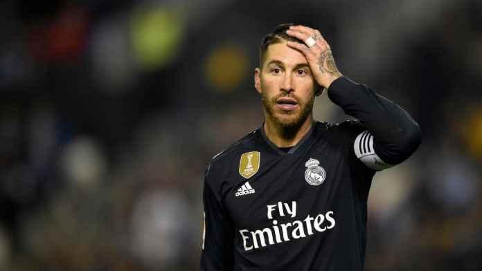 Sergio Ramos kapten Real Madrid