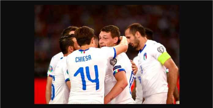 Yunani Dihabisi Italia 0-3 Dalam Waktu 10 Menit!