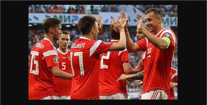 Rusia Menang 9-0, Eh Masih Gagal Pecahkan Rekor Gol Terbanyak