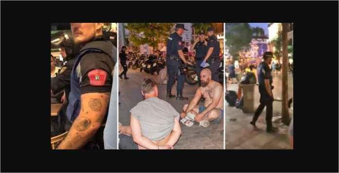 Kasihan Betul, Sudah Kalah Fans Tottenham Dipukuli Polisi Madrid Pula