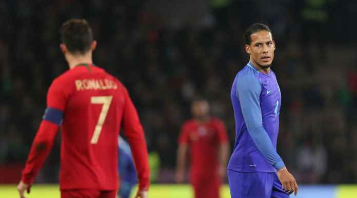 Virgil Van Dijk akan berhadapan dengan Cristiano Ronaldi di Final Uefa Natione League