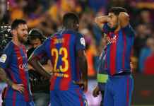 Berita Barcelona - Samuel Umtiti Khianati Lionel Messi Luis SUarez dan Gerrard Pique