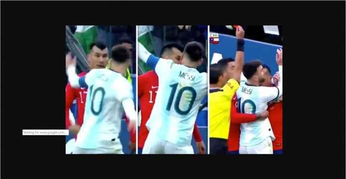 Mantan Sevilla dan Inter Milan, Pemain Chile yang Bikin Messi Kartu Merah