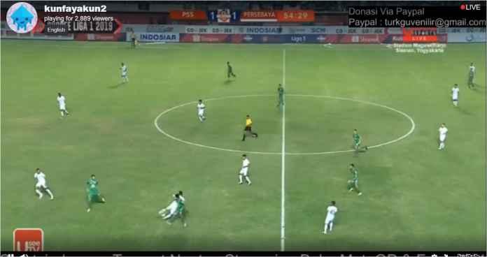 Hasil PSS Sleman vs Persebaya Surabaya 2-1, The Eagles Kejar Bajul Ijo