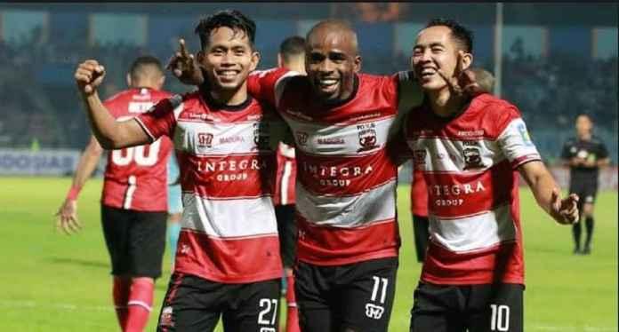 Madura United Rebut Posisi Teratas Saat Menjamu PSS Sleman