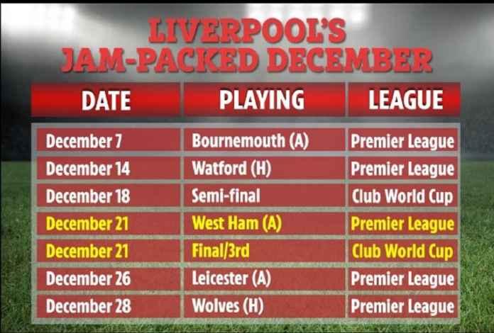 Liverpool Harus Mengatur Ulang Jadwal Musim Depan