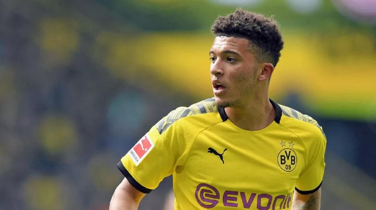 Jadon Sancho, Borussia Dortmund.