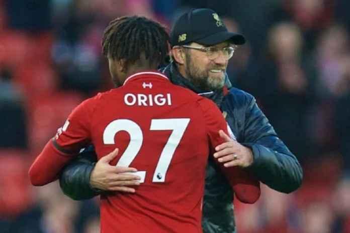 Liverpool Tak Masukkan Klausul Rilis di Kontrak Baru Divock Origi