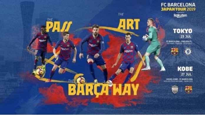 Barcelona Tetap Bawa Pemain Buangan ke Jepang