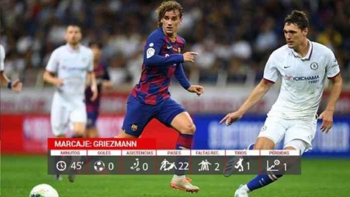 Antoine Griezmann Jadi No.9 dalam Debutnya Bersama Barcelona