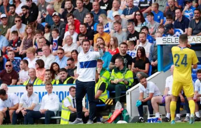 Frank Lampard Uji Kebugaran Chelsea Saat Hadapi Salzburg