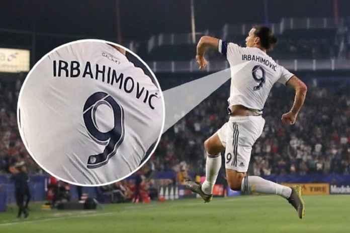 Parah, LA Galaxy Salah Eja Nama Zlatan Ibrahimovic