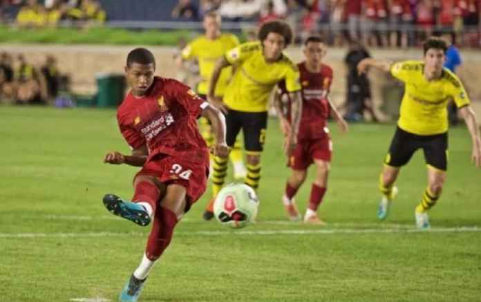 Liverpool vs Borussia Dortmund: Rhian Brewster Cetak Gol Ke-4, The Reds Tetap Kalah