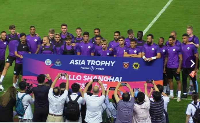 Manchester City Hadapi West Ham United di Shanghai Malam Ini