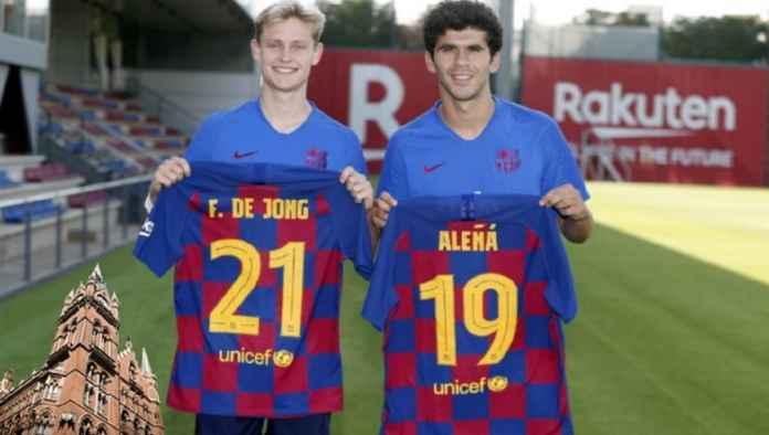Frenkie de Jong Dapat Warisan Luis Enrique, Alena Kenakan Nomor Messi