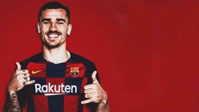 Antoine Griezmann Resmi Teken Kontrak 5 Tahun di Barcelona