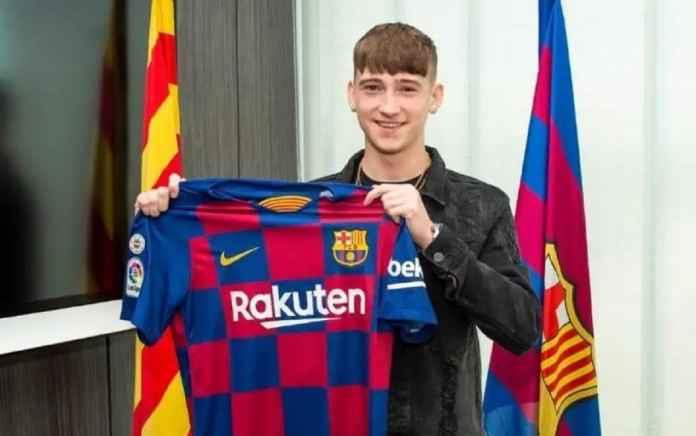 Barcelona Gaet Pemain Muda Terbaik Inggris