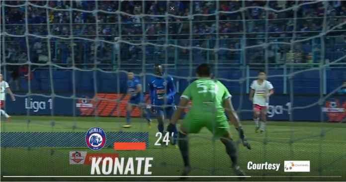 Hasil Arema FC vs Badak Lampung FC 4-1, Arema Menang Tiga Beruntun