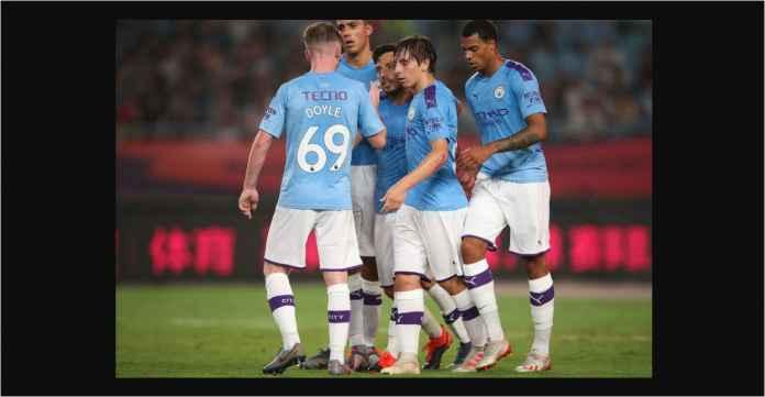Jebolan Barcelona Bawa Manchester City Menang 4-1 Atas West Ham