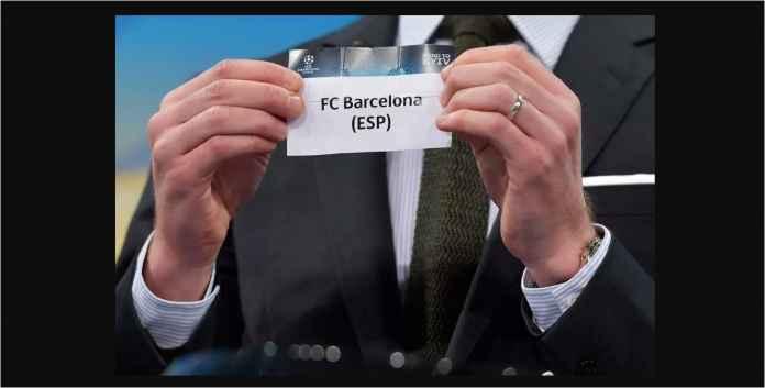 Barcelona Kebagian Sial Dalam Drawing Grup Liga Champions
