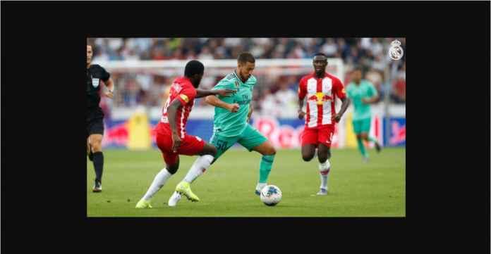 Eden Hazard Cetak Gol Pertamanya Untuk Real Madrid Tadi Malam