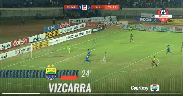 Raungan Ghozali dan Vizcarra Bawa Persib Bandung ke Urutan 9