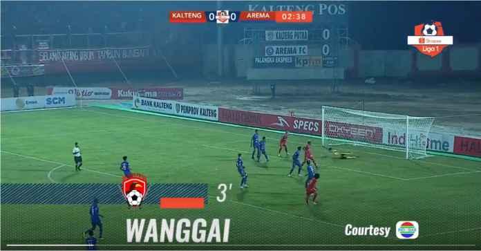 Hasil Kalteng Putra vs Arema FC 4-2, Dua Gol Dari Patrich Wanggai