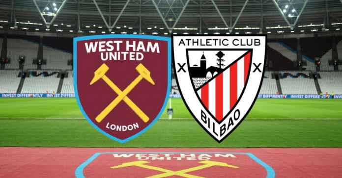 Hasil Betway Cup West Ham United vs Athletic Bilbao