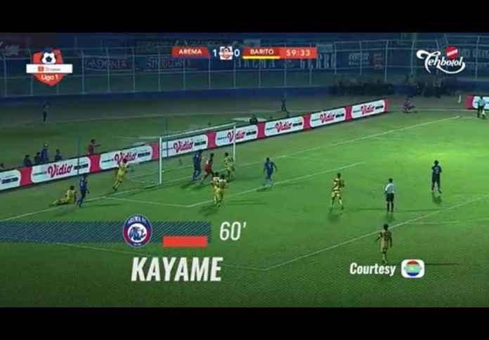 Hasil Arema FC vs Barito Putera 2-1, Teruskan Tren Kemenangan