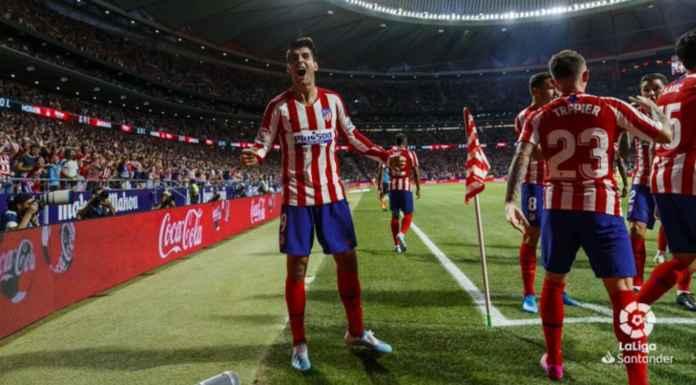 Hasil Liga Spanyol - Atletico Madrid vs Getafe
