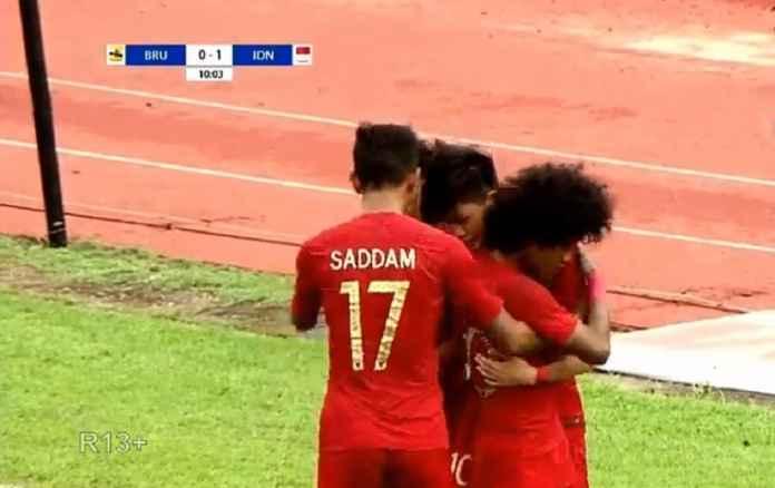 Hasil Piala AFF U-18 Indonesia vs Brunei Darussalam