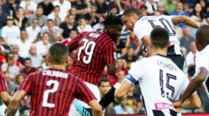 Hasil Udinese vs AC Milan di pekan pertama Liga Italia Serie A