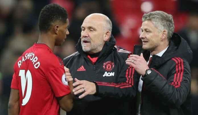 Pelatih Manchester United tidak adil bagi Marcus Rashford