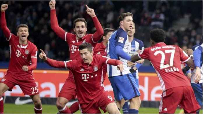 Bayern Munchen Mudah Raih Poin Sempurna Atas Hertha Berlin