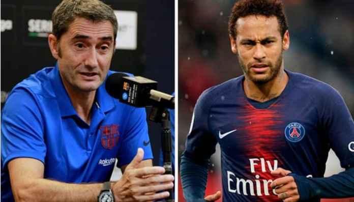 Pelatih Barcelona Tolak Komentari Transfer Neymar