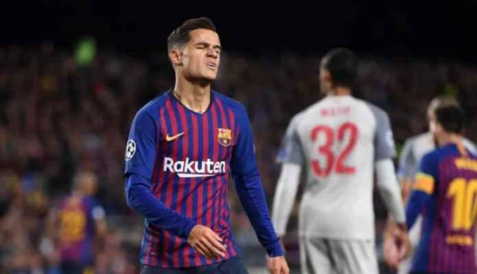Barcelona Segerakan Pelepasan Philippe Countiho