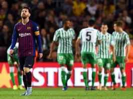 Barcelona Dapat Semangat Baru, Real Betis Minus Andalannya