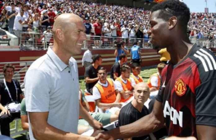 Zinedine Zidane Belum Menyerah Datangkan Paul Pogba