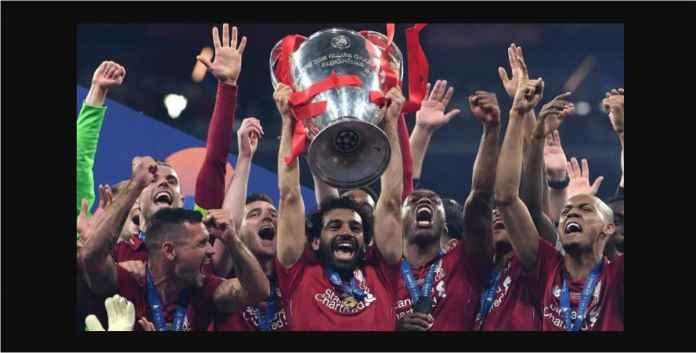 Liverpool Juara Bertahan Liga Champions Kebagian Napoli dan Salzburg