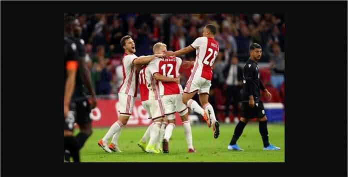 Hasil Ajax Amsterdam vs PAOK 3-2 Agregat 5-4