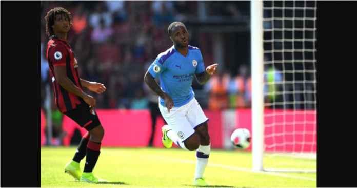 Hasil Bournemouth vs Manchester City 1-3, Sterling Kembali Top Skor