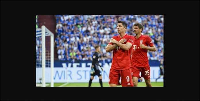 Hasil Schalke 04 vs Bayern Munchen 0-3, Lewandowski Hat-trick!