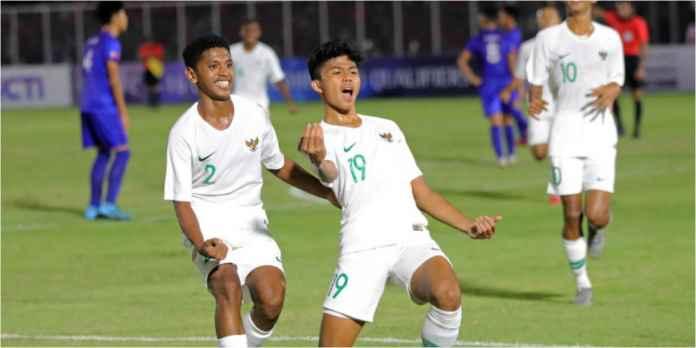 Hasil Indonesia vs Filipina 4-0 Hari Senin Malam di Piala Asia U-16