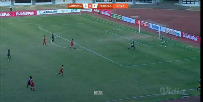 Lampung vs Persela 1-1, Alex Goncalves Sudah 16 Gol!