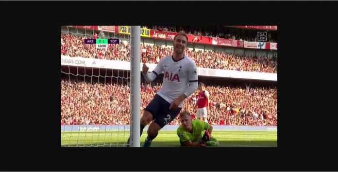 Salah Kiper Arsenal, Christian Eriksen Cetak Gol Mudah