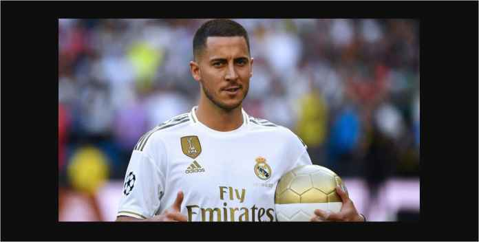 Eden Hazard Cuma Cadangan, James dan Vinicius Starter Real Madrid
