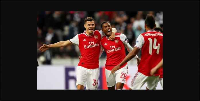 Arsenal Menang 3-0 Atas 10 Pemain Eintracht Frankfurt di Liga Europa