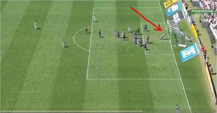 Gol Langsung Dari Sepak Pojok Pemain Brasil Ini Viral